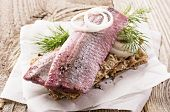 pickled herring fillet