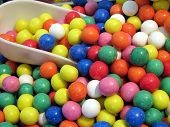 Coloured Candy Sweets