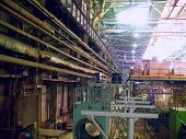 Cold Rolling Department In Ferrous Metallurgy Factory