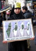Anti-israeli Protests In Paris