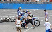 Daniel Bodin fall down