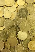 Polish Coins Background poster