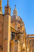 picture of gozo  - Dome of the parish church in Ghajnsielem in Gozo, Malta.