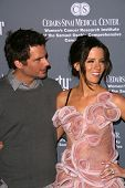 Len Wiseman and Kate Beckinsale  at the 4th Annual Pink Party. Santa Monica Airport, Santa Monica, CA. 09-13-08