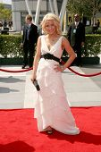 Juliana Huff  At the 60th Primetime Creative Arts Emmy Awards Red Carpet. Nokia Live Theater, Los An
