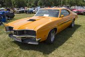 1970 Orange Mercury Cyclone Spoiler
