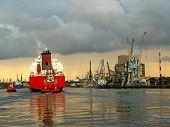 Maneuvers In Port