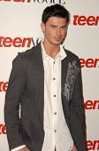 Adam Gregory  at the Teen Vogue Young Hollywood Party. Los Angeles County Museum of Art, Los Angeles, CA. 09-18-08