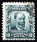 Postage Stamp Brazil 1906 Aristides Lobo, Politician