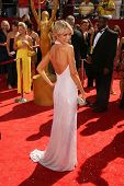 Katrina Bowden  at the 60th Annual Primetime Emmy Awards Red Carpet. Nokia Theater, Los Angeles, CA. 9-21-08