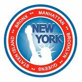 Abzeichen von New york