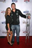Erika Landin and Adam Gentry  at the Fox Reality Channel Awards. Avalon Hollywood, Hollywood, CA. 09-24-08