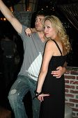 Drew Seeley and Jennifer Leeser  at the Birthday Party for Jennifer Leeser. Medusa Lounge, Los Angel
