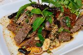 Grilled Beef With Spicy Salad