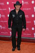 Keith Yates  arriving at The 43rd Annual Academy Of Country Music Awards. MGM Grand Hotel And Casino