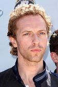 Chris Martin of the band Coldplay  at the 2008 MTV Movie Awards. Gibson Amphitheatre, Universal City