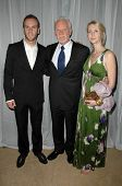 Charlie McDowell with Malcolm McDowell and Lilly McDowell at the 35th Annual Vision Awards. Beverly Hilton Hotel, Beverly Hills, CA. 06-12-08