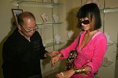 Bai Ling Modeling jewelry by Charlene K  at the Dans Sara, Leezee Fabulous Shoes and Swing Cologne G