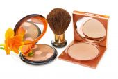 Luxury makeup bronzers with brush