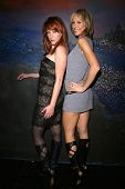 Jenny Mcshane and Shana Sosin wearing shoes by Dans Sara  at the party celebrating the opening night