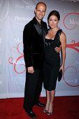 Edoardo Ponti and Sasha Alexander  at the 2008 Crystal And Lucy Awards Gala. Beverly Hilton Hotel, Beverly HIlls, CA. 06-17-08