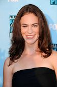 Maggie Siff  at the FOX All Star Party. Santa Monica Pier, Santa Monica, CA. 07-14-08