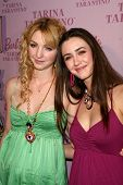 Vanessa Zima and Madeline Zima  at the Pink Plastic Party of the Year celebrating the launch of the
