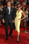 David Beckham and Victoria Beckham  at the 2008 ESPY Awards. Nokia Theatre, Los Angeles, CA. 07-16-0