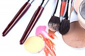 Items for professional make-up application