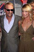 Kevin Costner and Christine Baumgartner   at the Los Angeles Premiere of