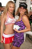 Meriah Nelson and Bridgetta Tomarchio  at the