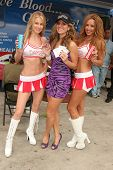 Meriah Nelson with Bridgetta Tomarchio and Angelia  at the