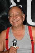 Cheech Marin  at a press conference to announce the
