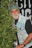 Tommy Chong  at a press conference to announce the