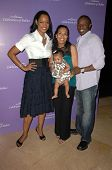 Garcelle Beauvais with Aonika Laurent and Sean Patrick Thomas with their daughter Lola  at 'Celebration of Babies' luncheon to benefit March of Dimes. Beverly Hilton Hotel, Beverly Hills, CA. 09-27-08