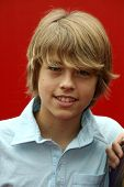 Cole Sprouse at the 'Power Of Youth' event benefitting St. Jude. L.A. Live, Los Angele, CA. 10-04-08