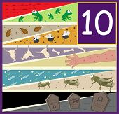 picture of lice  - An illustration of the ten plagues of Egypt - JPG
