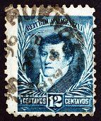 Postage Stamp Argentina 1893 Manuel Belgrano