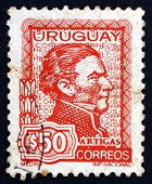 Postage Stamp Uruguay 1973 Artigas, General And Patriot