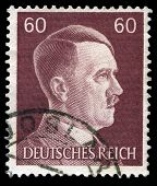 German Reich Postage Stamp From 1945