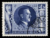 German Reich Postage Stamp From 1943