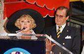 Ruta Lee and Roger Moore  at the ceremony honoring Roger Moore with the 2,350th Star on the Hollywood Walk of Fame. Hollywood Boulevard, Hollywood, CA. 10-11-07