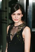 NEW YORK-MAR 13: Actress Stacy Martin attends the 'Nymphomaniac: Volume 1' screening at The Museum o