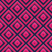Seamless vector pattern with squares