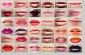 picture of  lips  - Lipstick - JPG