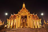 The Emerald Buddha Temple In Night