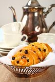 Fresh Gluten Free Sweet Swirl Buns With Raisins