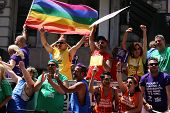 The Gay Pride 2014, New York city, USA