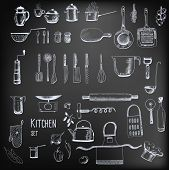 image of mixer  - Kitchen set - JPG