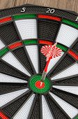 Dart Board With Dart